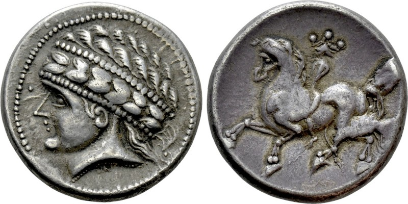 "CENTRAL EUROPE. Noricum. Tetradrachm (Circa 170-150 BC). ""Kugelreiter"" type. 