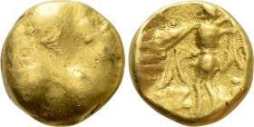 "CENTRAL EUROPE. Boii. GOLD 1/3 Stater (2nd-1st centuries BC). ""Athena Alkis"" type. 