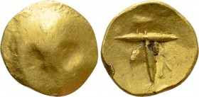 "CENTRAL EUROPE. Boii. GOLD 1/8 Stater (1st centuries BC). ""T"" type. 