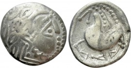 "EASTERN EUROPE. Imitations of Philip II of Macedon (2nd century BC). ""Tetradrachm."" Mint in the northern Carpathian region. ""Schnabelpferd"" type. 