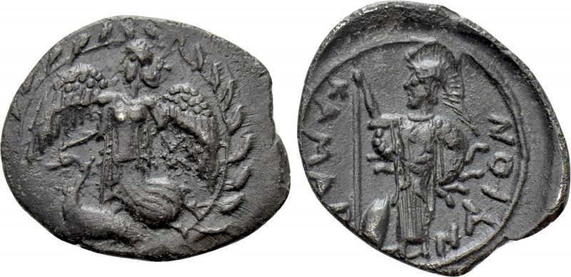 SICILY. Kamarina. Litra (Circa 461-435 BC). 