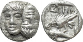 MOESIA. Istros. Hemiobol (Late 5th-4th centuries BC). 