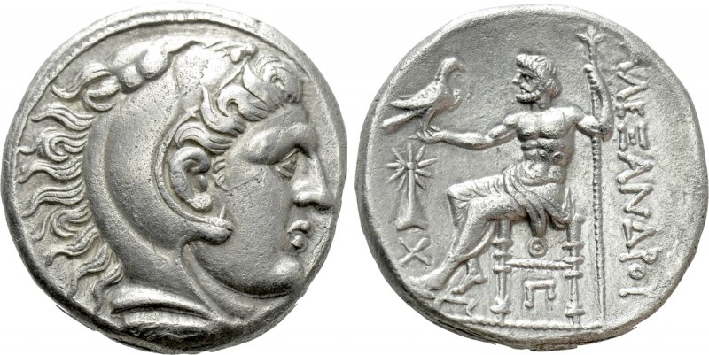 KINGS OF MACEDON. Alexander III 'the Great' (336-323 BC). Tetradrachm. Uranopoli...