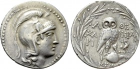 ATTICA. Athens. Tetradrachm (178/7 BC). New Style Coinage. Hari-, Hra-, magistrates. 