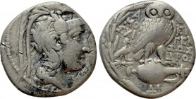 ATTICA. Athens. Tetradrachm (125/4 BC). New Style Coinage. Epigene-, Sosandros and Moschi-, magistrates. 
