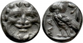 ASIA MINOR. Uncertain. Obol (4th century BC). 