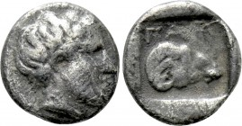 TROAS. Gargara. Tritartemorion (Circa 420-400 BC). 