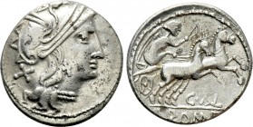 C. THALNA. Denarius (After 154 BC). Contemporary imitation of Rome. 
