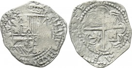 BOLIVIA. Philip III (1598-1621). 2 Reales. Potosi. 