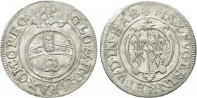 GERMANY. County of Fugger-Babenhausen-Wellenburg. Maximilian II (1598-1629). 2 Kreuzer (no date). 