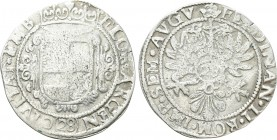 GERMANY. Emden. Ferdinand II (Holy Roman Emperor, 1624-1637). Gulden or 28 Stüber. 