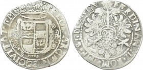 GERMANY. Emden. Ferdinand III (Holy Roman Emperor, 1637-1653). Gulden or 28 Stüber. 