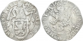 NETHERLANDS. Gelderland. Lion Dollar or Leeuwendaalder (1649). 