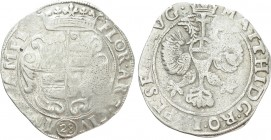 NETHERLANDS. Kampen. In the name of Matthias I (1612-1619). 28 Stuiver or Gulden. 