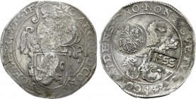 RUSSIA. Alexei Mikhailovich Romanov (1645-1676). AR Yefimok (Jefimok) (1655).