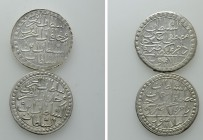 2 Coins of the Ottoman Empire / Mustafa III. 