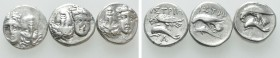 3 Drachms of Istros. 