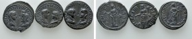 3 Roman Provincial Coins. 