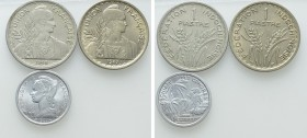 3 Coins of France / Indochina. 