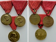 3 Decorations of the Austrain Empire; Franz Joseph I. 