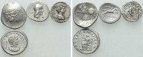 4 Roman and Celtic Coins. 