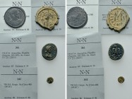 4 Ancient Coins. 