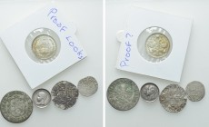 5 Modern Coins; Napoleon, Russia and Switzerland. 