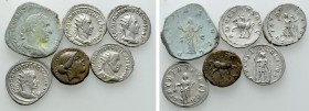 6 Ancient Coins. 