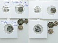 6 Medieval Coins; Crusaders, Armenia and Bulgaria. 