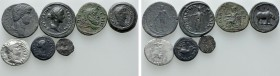7 Ancient Coins; Nero, Alexandria etc. 