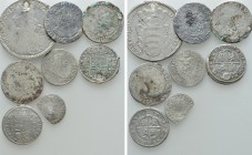 8 Modern Coins. 