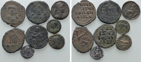 8 Roman and Byzantine Coins. 