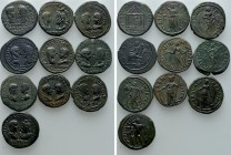 10 Roman Provincial Coins. 