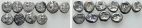 10 Achaemenid Sigloi. 