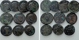 10 Folles of the Tetrarchy. 