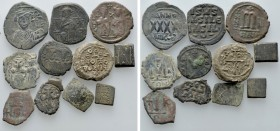 11 Byzantine Coins, Weigts and Seals. 