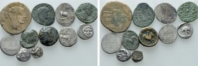 11 Greek and Roman Coins. 