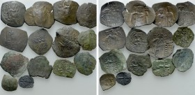 14 Byzantine Coins. 