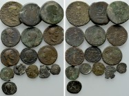 15 Roman Coins; Galba, Nero etc. 