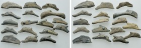 17 Pieces of Dolphin Money of Olbia. 