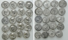 20 Roman Denarii. 