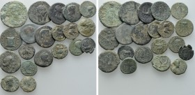20 Roman Provincial Coins. 