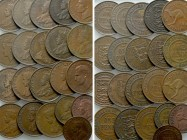 21 Coins of the Commonwealth; Australian and Jersey. 