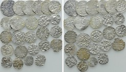 Circa 25 Medieval Coins; France etc. 