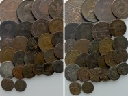 27 Coins of Italy; the United Kingdom etc. 