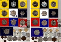 27 Modern Coins; Including Silver. 