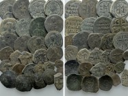 28 Byzantine Coins. 