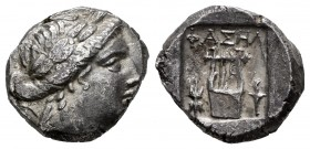 Lycia. Phaselis. Drachm. 167-100 a.C. (Troxell-Lycian 53.1-53.10). Anv.: Head of Apollo laureate on the right with bow and quiver on the shoulder. Rev...