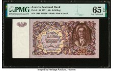 Austria Austrian National Bank 50 Schilling 2.1.1951 Pick 130 PMG Gem Uncirculated 65 EPQ.   HID09801242017  © 2020 Heritage Auctions | All Rights Res...