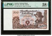 Austria Austrian National Bank 500 Schilling 2.1.1953 Pick 134a PMG Choice About Unc 58 EPQ.   HID09801242017  © 2020 Heritage Auctions | All Rights R...
